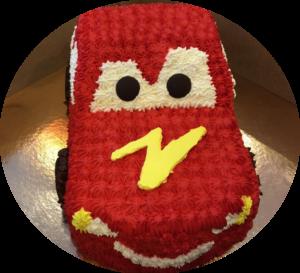 Custom Boy Birthday Cake-Car