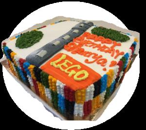 Lego Custom Design Cake