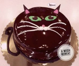 Cat Custom Birthday Cake