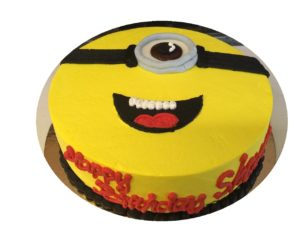 Minion Custom Cake