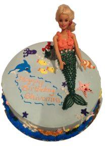 Little Mermaid Custom Birthday Cake