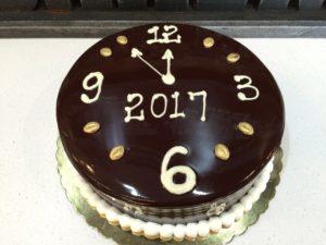 2017 New Year Cake