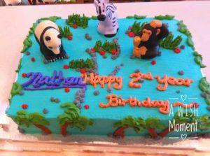 Zoo Kid Birthday Cake