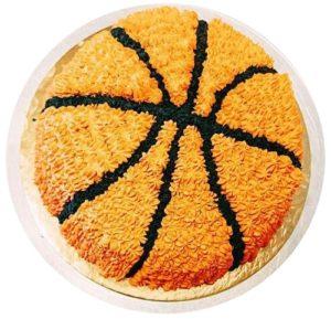 Boy Basketball Birthday Cake